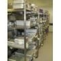 NHS Hospital Theatre Instrument Storage Racks